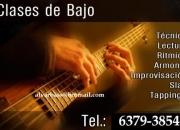 CLASES DE BAJO - -