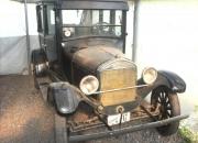 Ford T 1927 sedan 4 puertas color negro muy buen estado.
