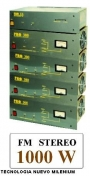 venta de radios de fm de 300 watts stereo nuevas y equipadas a $ 6.500.- pesos