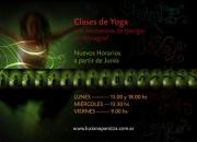 Clases de yoga con elementos en Almagro!!