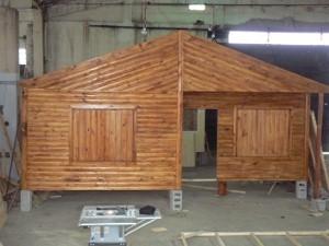 Vendo prefabricadas de madera