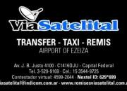 Taxi Ezeiza $ 72 Via Satelital S.A