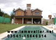 Chalet c pileta Villa Carlos Paz