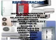 Instalacion de split,carga d gas y mensula $380