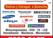 Reparacion TV PLASMA ; TV OLED ; TV LCD ; PHILIPS ; SONY ; JVC ; LG ;