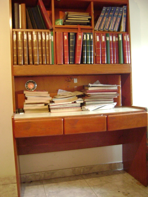 Muebles biblioteca con escritorio 20170725195551 for Muebles de oficina ibague