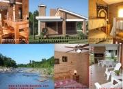 Casa frente rio San Antonio / Villa Carlos Paz,Alquiler x temporada