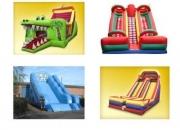 Juegos inflables, castillos inflables, super toro mecanico y otros