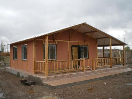 De casas de madera prefabricadas industrializadas de - Casas troncos de madera ...