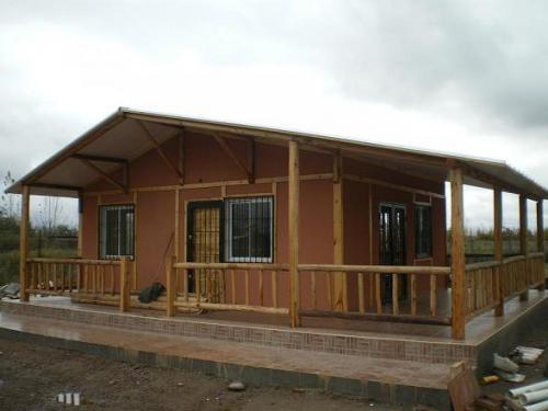 Casas de madera - prefabricadas - industrializadas - de troncos