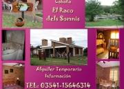 Alquiler Temporario Villa Carlos Paz Casa nueva frente rio San Antonio . Dueño
