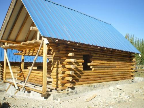 Casas prefabricadas madera casas de troncos de madera en - Casas troncos de madera ...