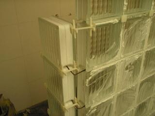 Decoracion mueble sofa ladrillos de vidrio de colores - Ladrillos de vidrio precio ...