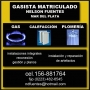 PLOMERO - GASISTA-156-881764 fijo 482-6545MAR DEL PLATA