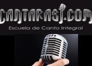 Canto Clases www.cantarasi.com