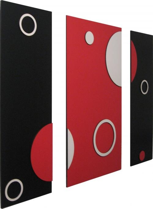 Cuadros minimalistas modernos abstractos con figuras en for Cuadros minimalistas modernos