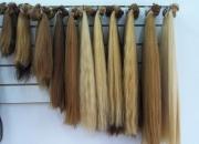 cortinas de cabello natural