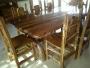 muebles rusticos artesanales de estilo cordillerano