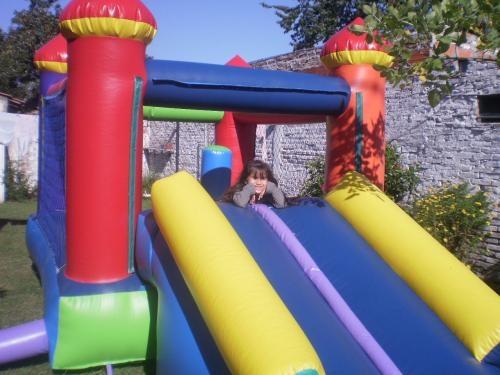 Alquiler castillos inflables para chicos zona ituz, castelar moron
