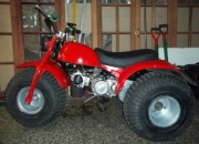 Vendo triciclo honda atc 110 mod. 1981