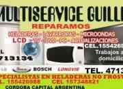 multiserviceguille tecnico heladera ,lavarropas 0351 4713134
