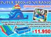 Promoción verano juegos inflables Babysjuegos