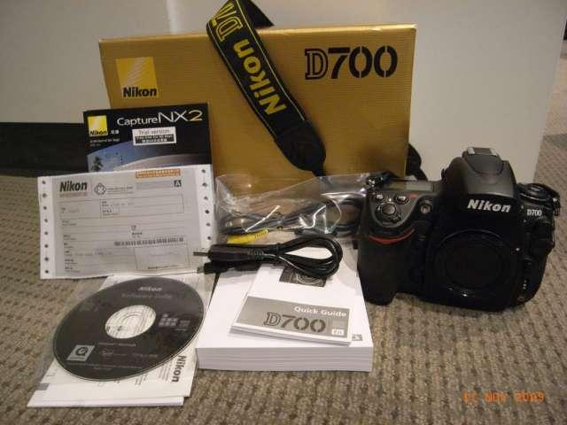 Nikon d700 cámara digital slr (cuerpo sólo)