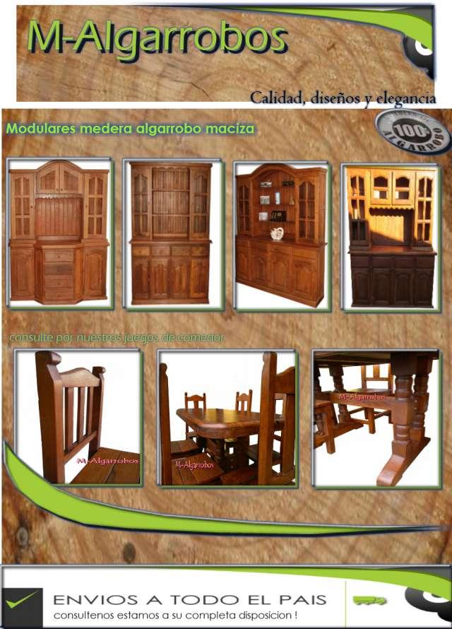 Muebles De Algarrobo Sillas De Algarrobo Mesas De Algarrobo Pictures