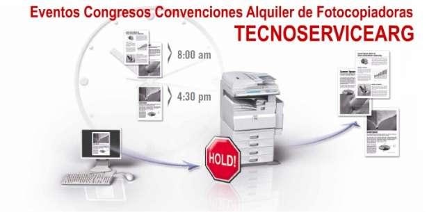 Alquiler de fotocopiadoras - impresoras b&n con usb/red