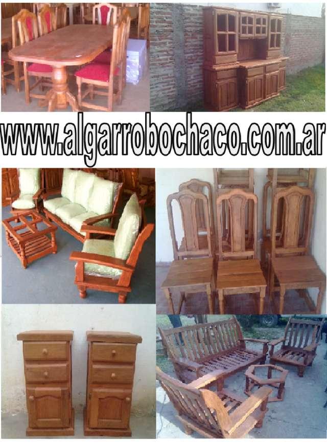 Muebles de algarrobo en chaco 20170803231042 for Mueble de algarrobo para living