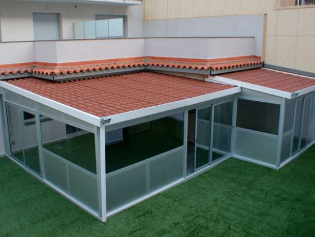 1000 images about ideas patio on pinterest patio pergolas and plastic chairs - Techos corredizos de aluminio ...