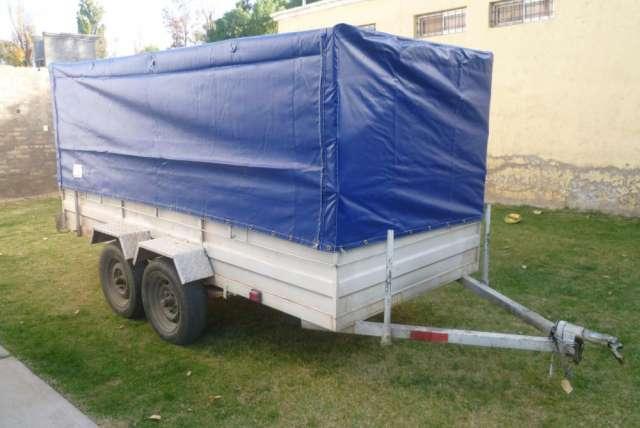 Vendo trailer doble eje - año de fabricación 2011 - muy buen estado