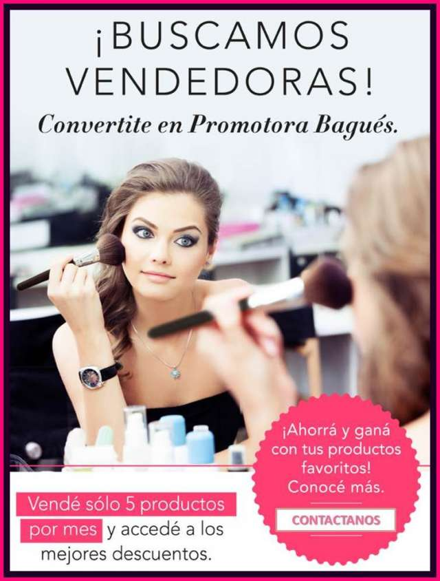 venta catalago cosmetica: