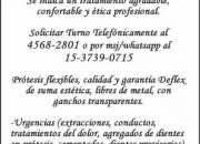Protesis flexibles dentales  zona Villa del Parque Llame [1537390715]