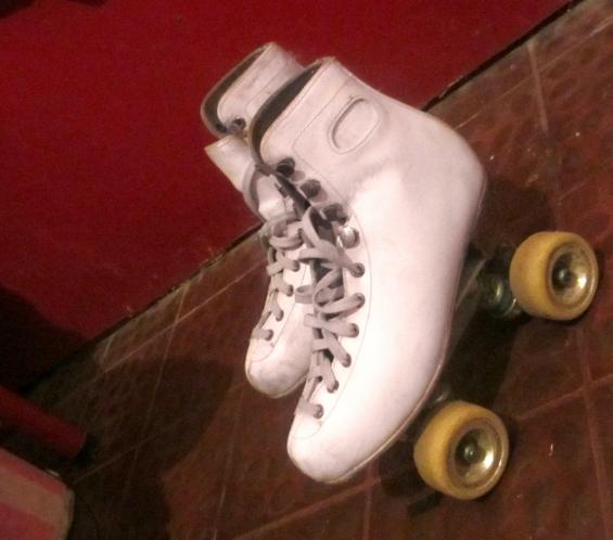 Patines talle 38 bota dance plancha indeme ruedas roll line buen estado