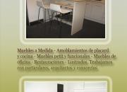 Amoblamientos de cocina a medida - Carpinteria artesanal vinka