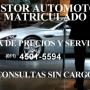 GESTOR AUTOMOTOR MATRICULADO–CONSULTAS SIN CARGO (guia de precios)