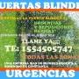 PUERTAS BLINDEX PUERTAS URGENCIAS AGENDE NUMERO 1554505747