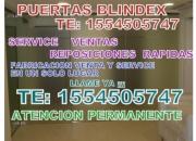 puertas blindex urgencias te:1566677318 reparacion y fabricacion rapida TODAS LAS ZONAS **