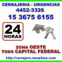 Cerrajeria 24hs Ituzaingo Llamenos *15-36756155*