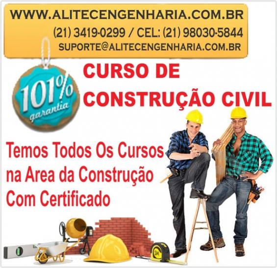 Curso de pedreiro alvenaria a distancia com certificado