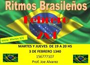 CLASES DE RITMOS BRASILEÑOS!!!!!!!!