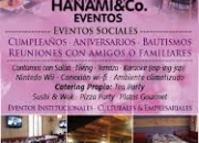 Salon de fiestas, espacio de eventos , cumpleaños ,casamientos