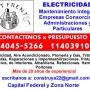 Electricidad domiciliaria instalaciones   Barrio Norte Presupuestos al 15-40455266