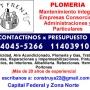 Plomeria - gas instalaciones y perdidas en Villa Crespo Llamenos *15-40455266*
