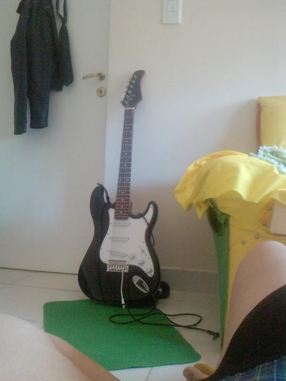 Vendo guitarra electrica st hallen
