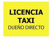 LICENCIA DE TAXI DUEÑO DIRECTO CABA CON LIBRE DEUDA