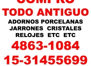 COMPRO ANTIGUEDADES PORCELANAS, CRISTALES,JARRONES,ADORNOS