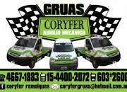 Remolques  Don Torcuato Telef 44002072 Coryfergruas