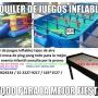 ALQUILER DE JUEGOS CASTILLOS INFLABLES